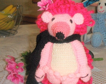 Hedgehog in pink