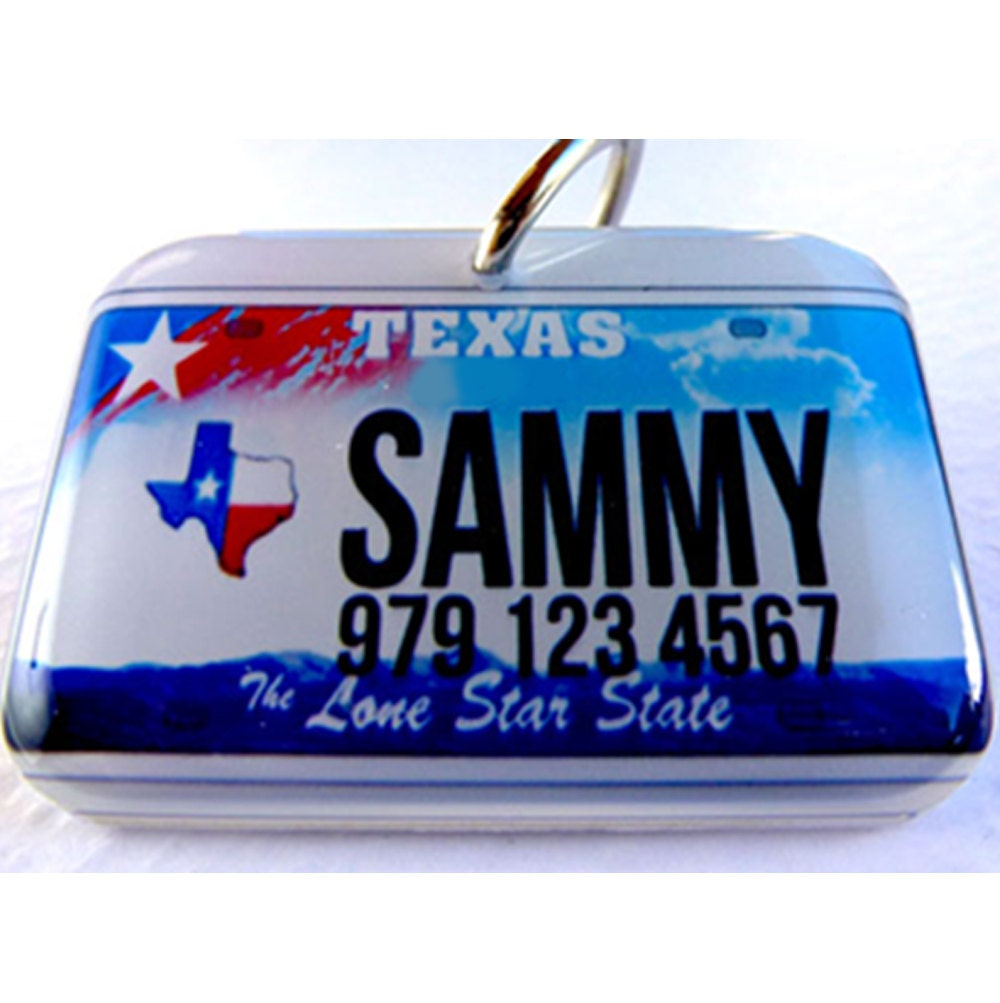 how to get personalized plates in texas