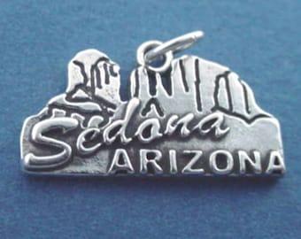 SEDONA ARIZONA Charm .925 Sterling Silver  Pendant - lp4389