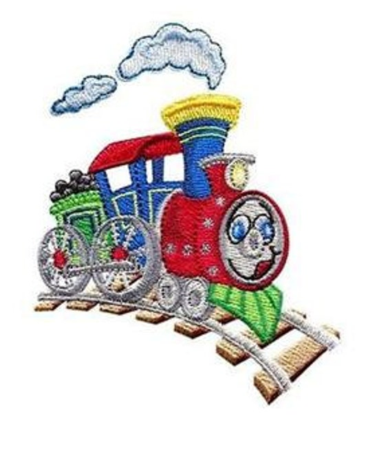 Cute CHOO-CHOO Trains Embroidery Designs - PES