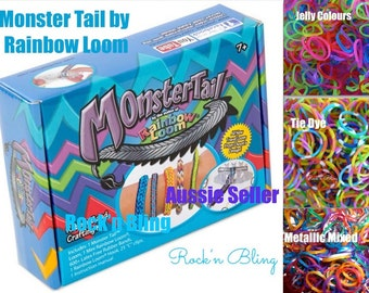 ORIGINAL AND AUTHENTIC - Monster Tail Kit by Rainbow Loom