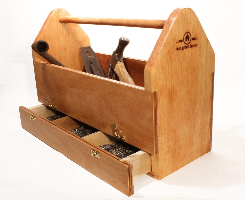 Wood Box Wood Toolbox ...