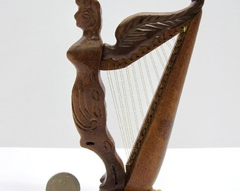 Popular Items For Wooden Harp On Etsy