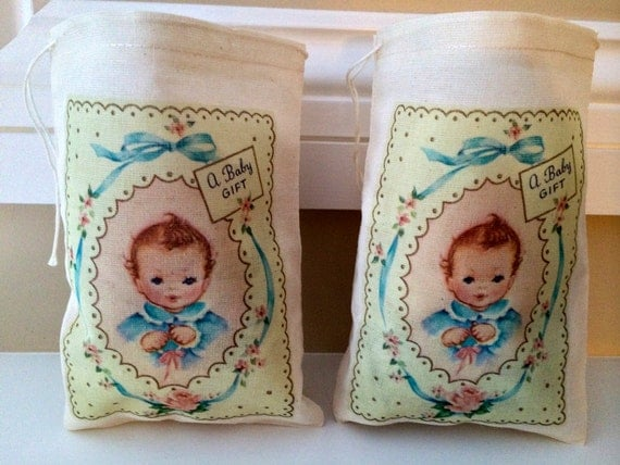 baby shower gift bags 4x6 gift basket favor bags drawstring bags