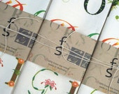 Typotany is a 100% linen tea-towel inspired by my love of Australian plants and Typography
