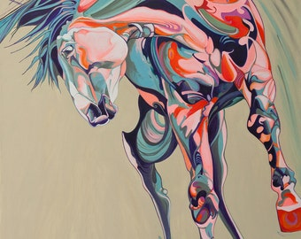 Equestrian Painting : Torsion