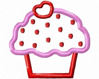 Cupcake applique design download 4x4 hoop size