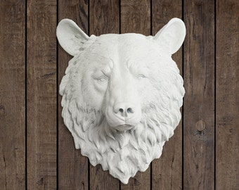 Faux Gold Ram Head By Wall Charmers Fake Ceramic Animal