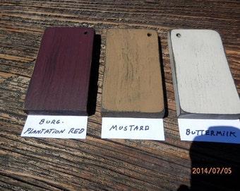 Color samples 3 x 5 paint chips---See item description for more details.