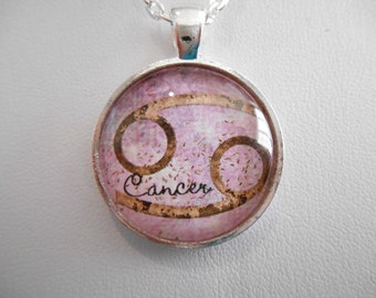 Zodiac Cancer Necklace