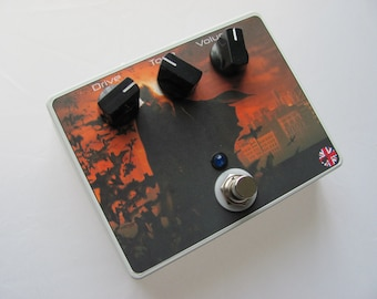 Clone TS808 Boutique Guitar Pedal, Tube Screamer, Gifts for him, Gifts for her.
