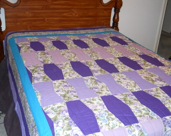 Texas Tumbler Patchwork Quilt