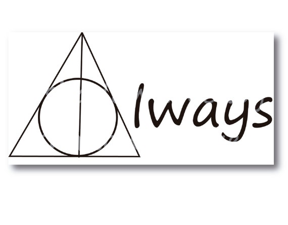 deathly hallows symbol always - photo #11
