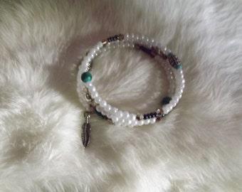 Handcrafted Beaded Bracelet