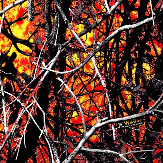 Moonshine Camo Wildfire Moonshine Camo Print Vinyl