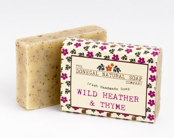 100% Natural Soap - Handmade in Donegal, Ireland.