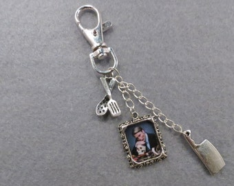 Hannibal picture bag charm