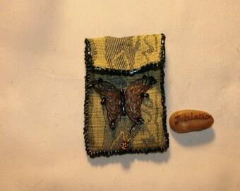 handmade Amulet/Prayer  Pouch