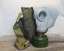 gas mask ... vintage Soviet army gas mask ... military ... punk ... cyber ... gothik ... USSR ... Russian ... punk