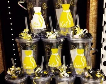 Wedding Party Cups