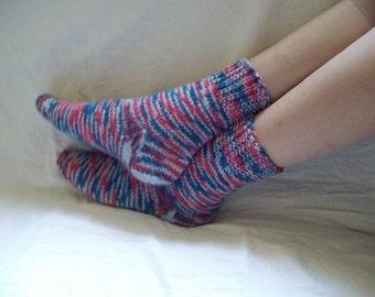 WOMEN  SOCKS,  Knitted  socks, Hand knitted socks, Home  slipers, Knitted slippers