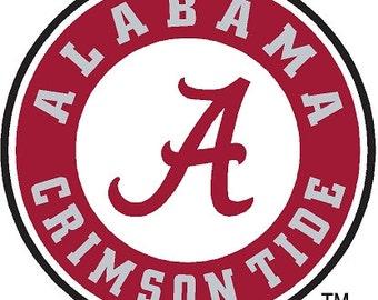 Alabama Crimson Tide Cornhole Decals