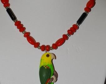 Amazon Parrot Necklace