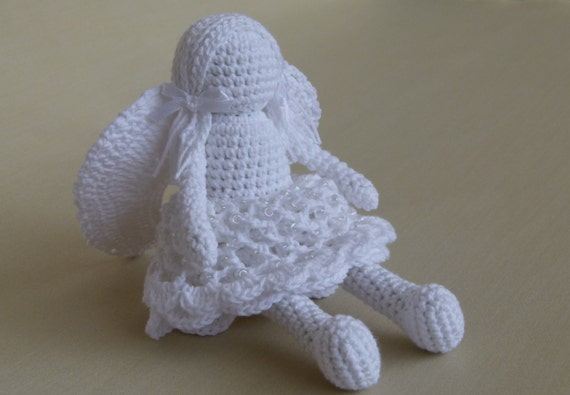 Amigurumi Angel Doll : amigurumi angel handmade crochet doll stuffed by ...