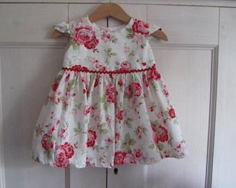 Pretty Little English Rose Summer Dress.