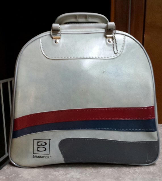 Retro Vintage Brunswick Bowling Ball Bag Unique By