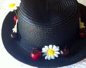 Mary Poppins Nanny Hat
