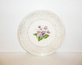 Spring Violet Dinner Plate