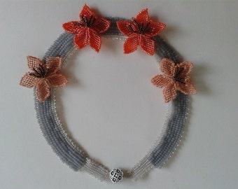 "Necklace "" Flower """