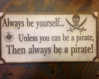 Pirate's life sign