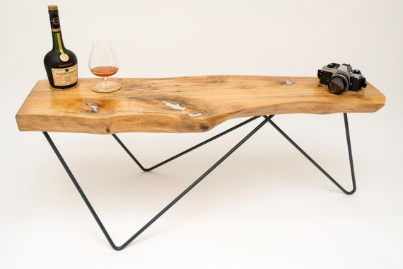 Hetre Bois Traduction : Live Edge Coffee Table
