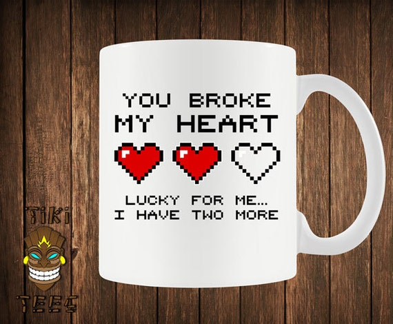 Funny Love Coffee Mug Video Game Mugs Cup Gamer Nerd By