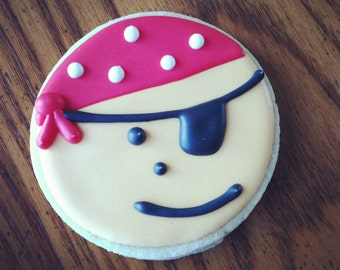 Pirate Sugar Cookies: 1 Dozen