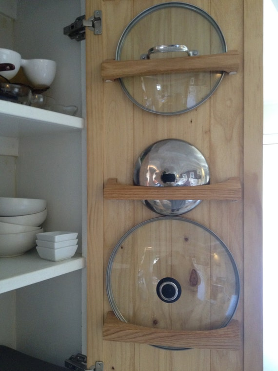 Items similar to Pot lid storage & organization made easy ...