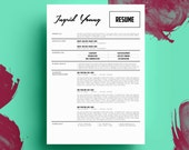 THE INGRID YOUNG • resume + cover letter package • microsoft word  •  free 2nd page!