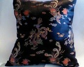 Chinese Brocade 16x16 pillow
