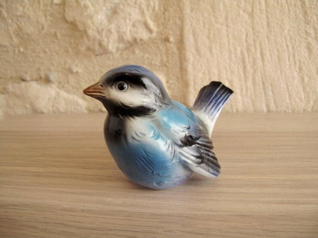 Goebel Bird Figurine Bluebird West Germany Collectibles