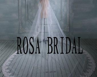 Custom Bridal lace veil