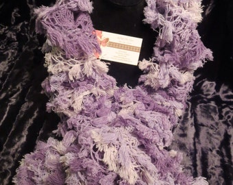 Heather Ruffle Scarf