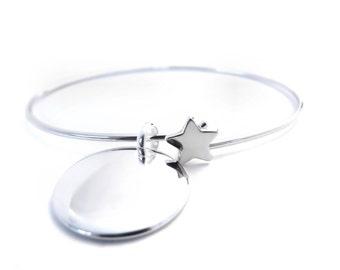 Bracelet custom cane star