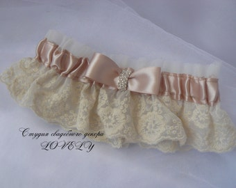 Wedding Garter   × weddihg garter   × Bridal Garter   × Ivory Lace Garter   × Ivory Garter