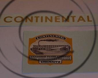 Continental Typewriter Water Slide Decal set