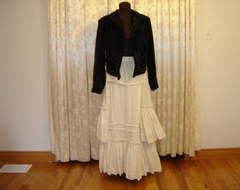Reproduction Flannel Prairie Skirt