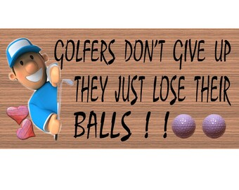 Golfers Don't Give Up GS067