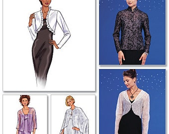 Misses' Jacket & Cape: Butterick Pattern B3345