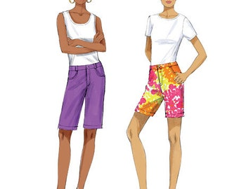 OUT of PRINT Butterick Pattern B6061 Misses' Pants